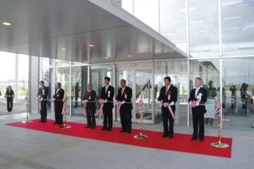 燕市新庁舎開庁式